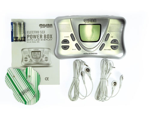 Elektro Sex Powerbox Set mit LCD Display