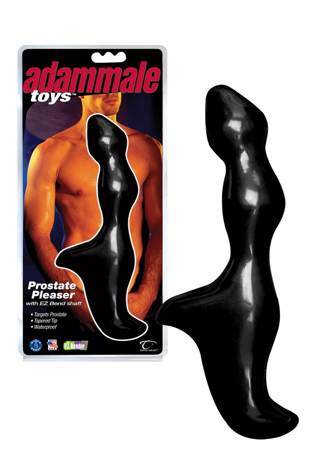 Adam Male Toys Prostate Pleaser with EZ Bend Shaft