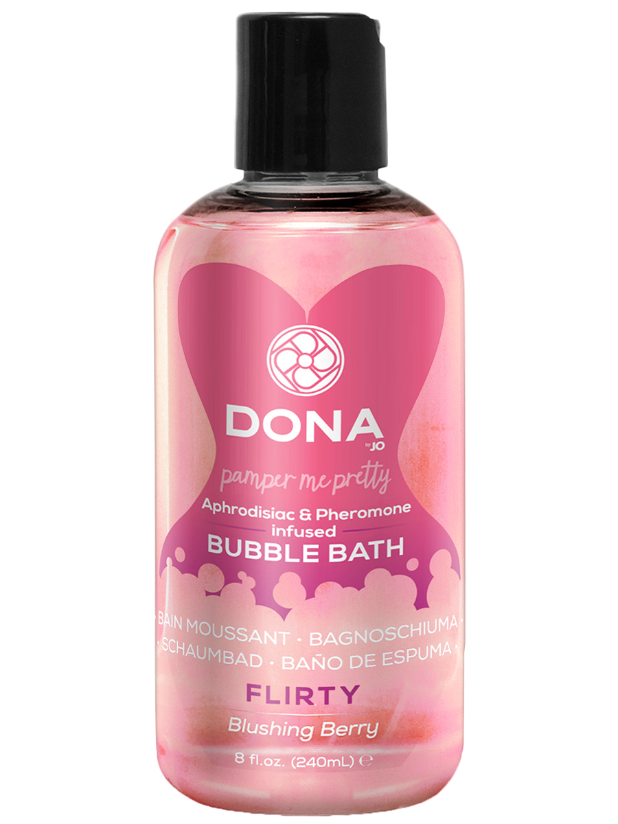 DONA - Bubble Bath Flirty Blushing Berry 240 ml