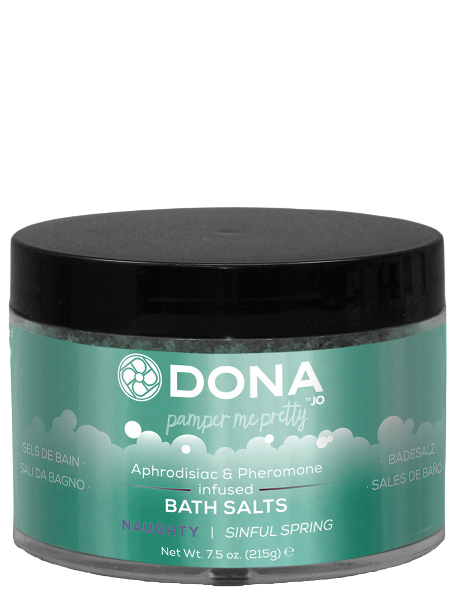 DONA - Baths Salt Naughty Sinful Spring 215 g