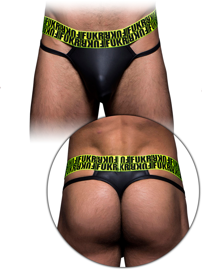 Andrew Christian - FUKR Slick Thong - Black
