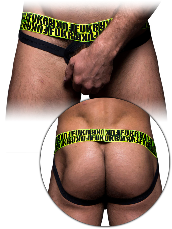 Andrew Christian - FUKR C-Ring Jock - Black