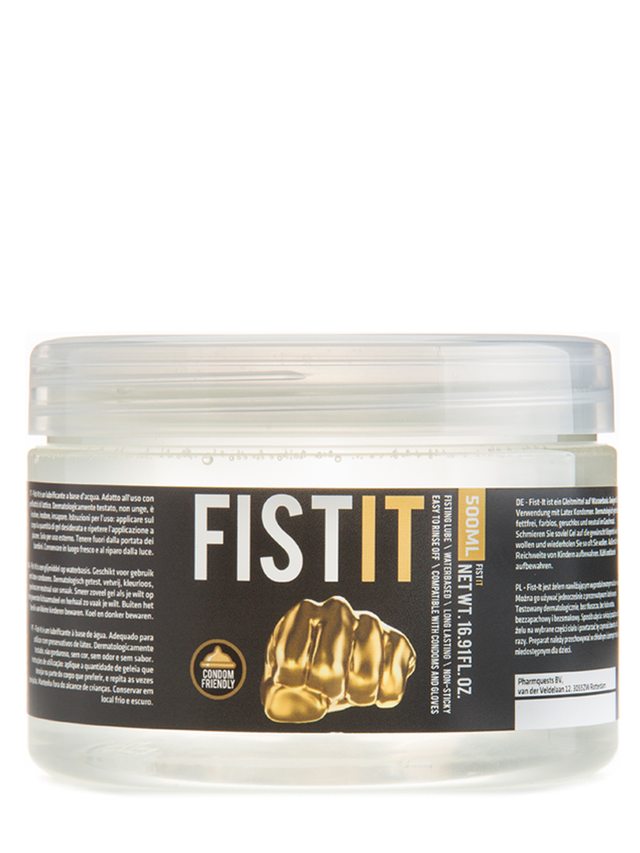 FistIt Water Based Lubricant 500 ml