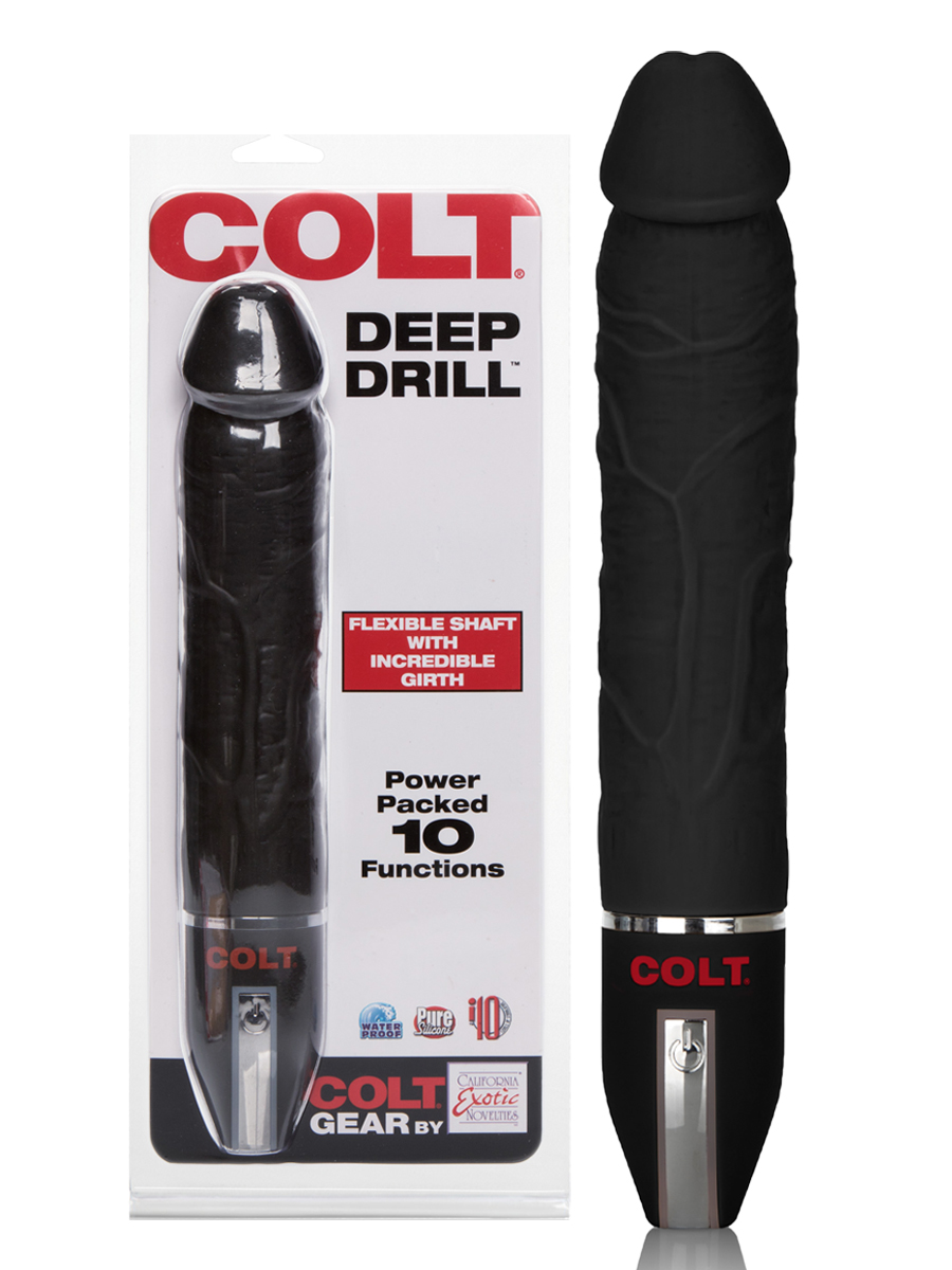 COLT - 10 Functions Deep Drill Analvibrator - schwarz