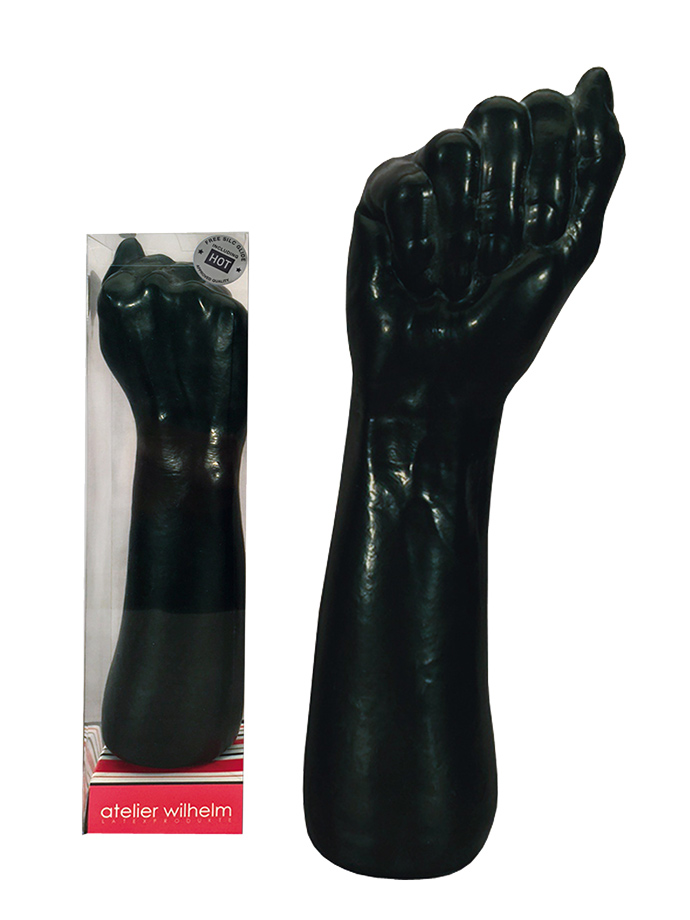 Latex Fist Black