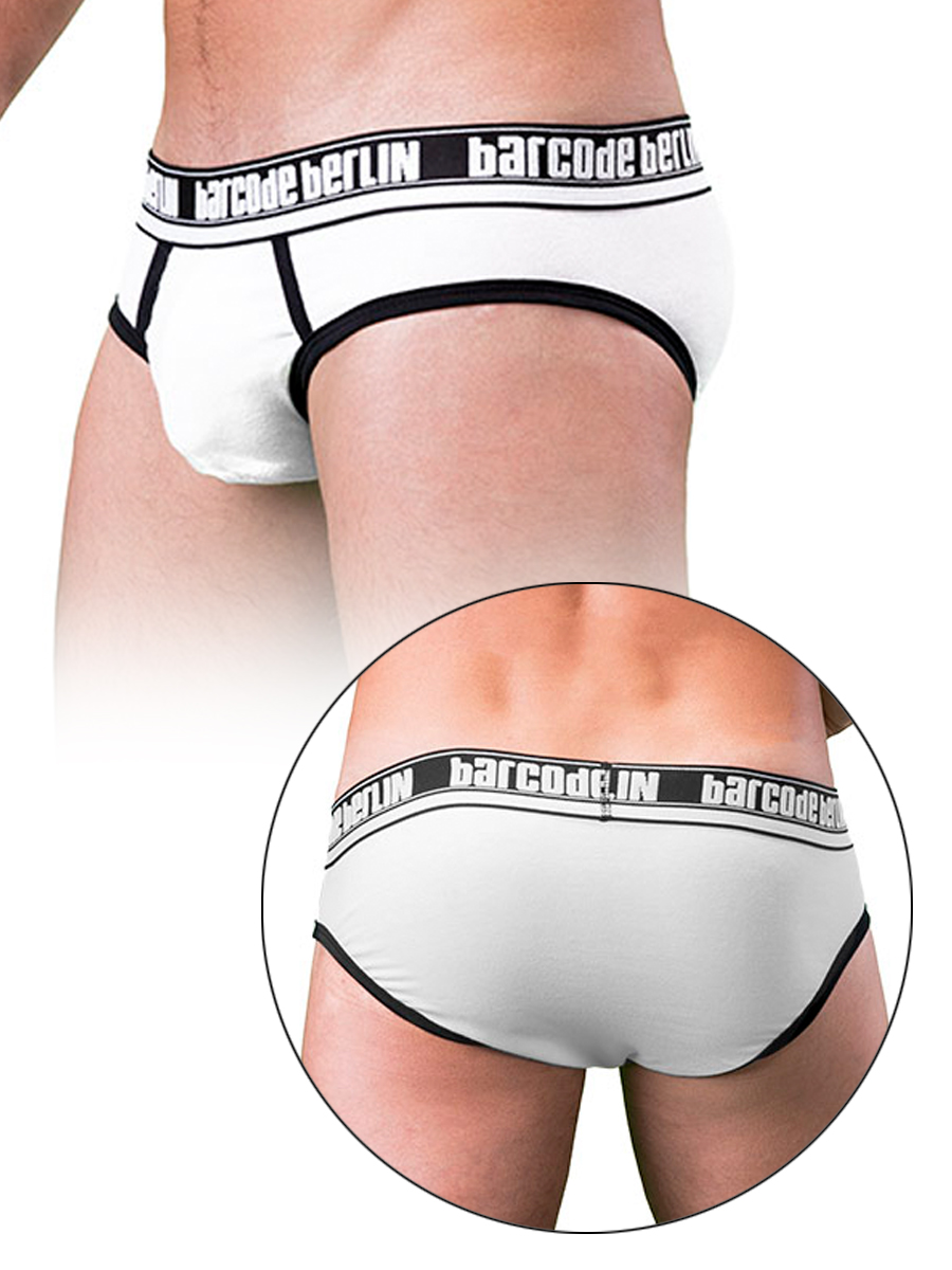 Barcode Brief Kreuzberg White/Black