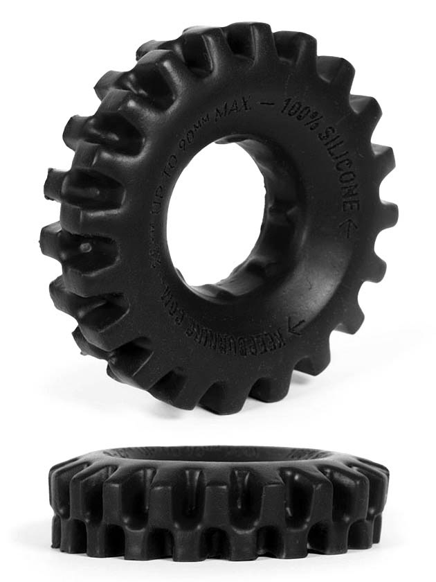 Burning Wheels 100% Silikon Cockring CK03 Schwarz