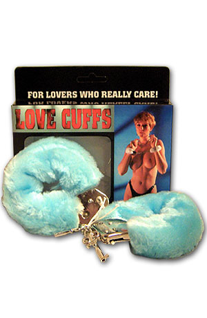 Love Cuffs - color light blue