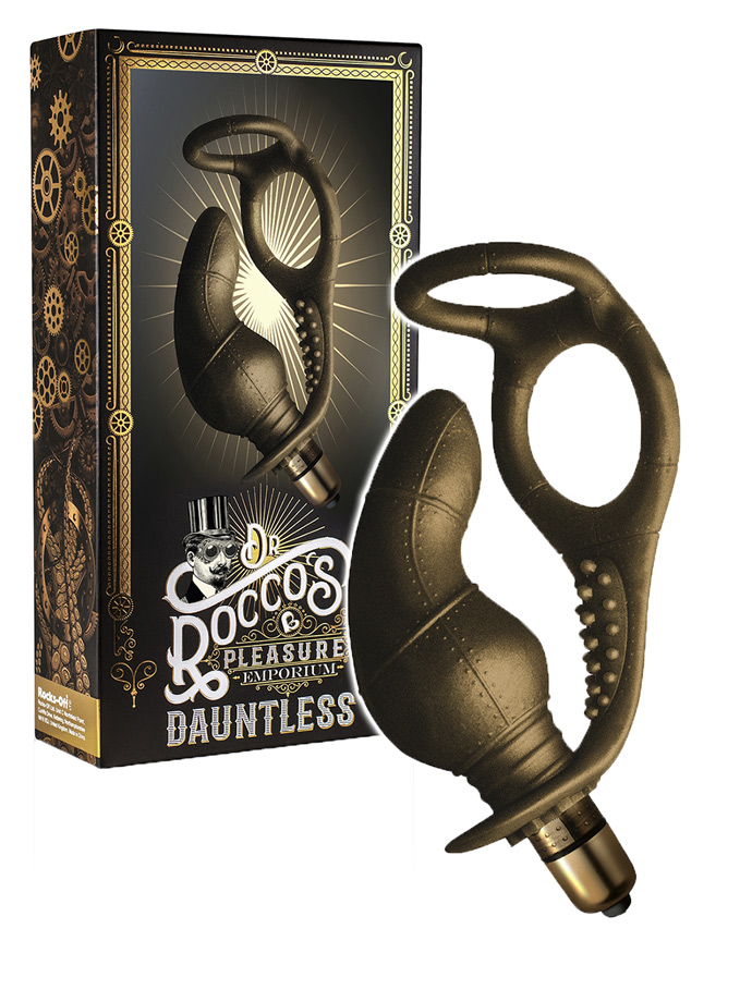 Dr. Roccos - Dauntless Prostata Massager mit Doppel C-Ring