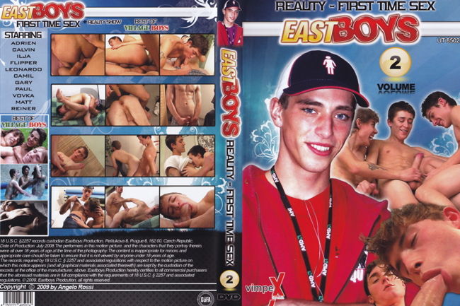 East Boys - Reality-First Time Sex 2