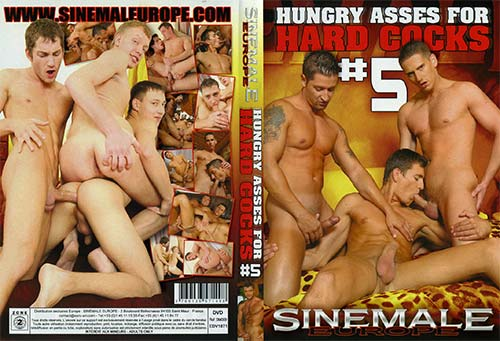 Hungry Asses For Hard Cocks 5