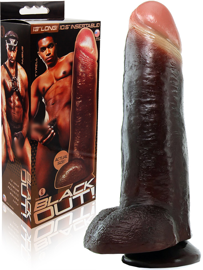 Blackout! - Ultra Realistic Cock 13 inch