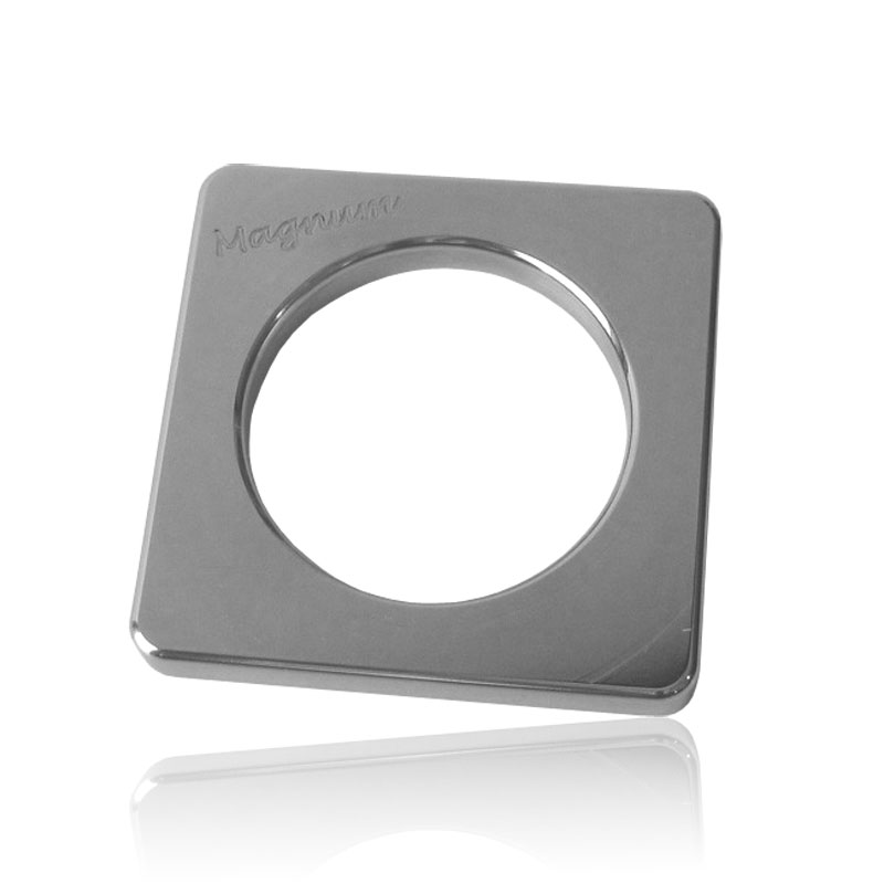 Stainless Steel Cockring Magnum 4 - 8 mm