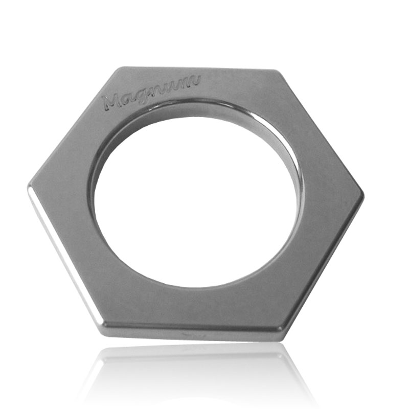 Stainless Steel Cockring Magnum 6 -  8 mm