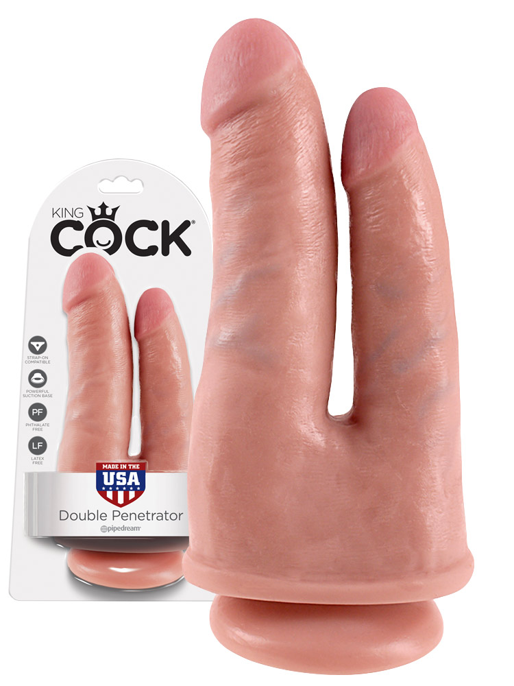 King Cock - Double Penetrator Flesh