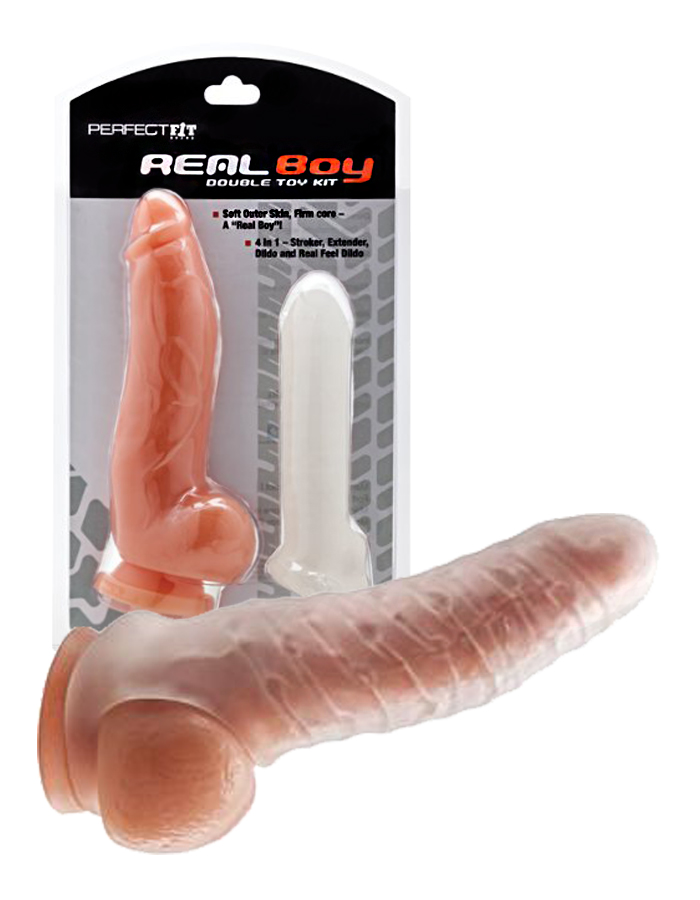 Perfect Fit Real Boy Double Toy Kit