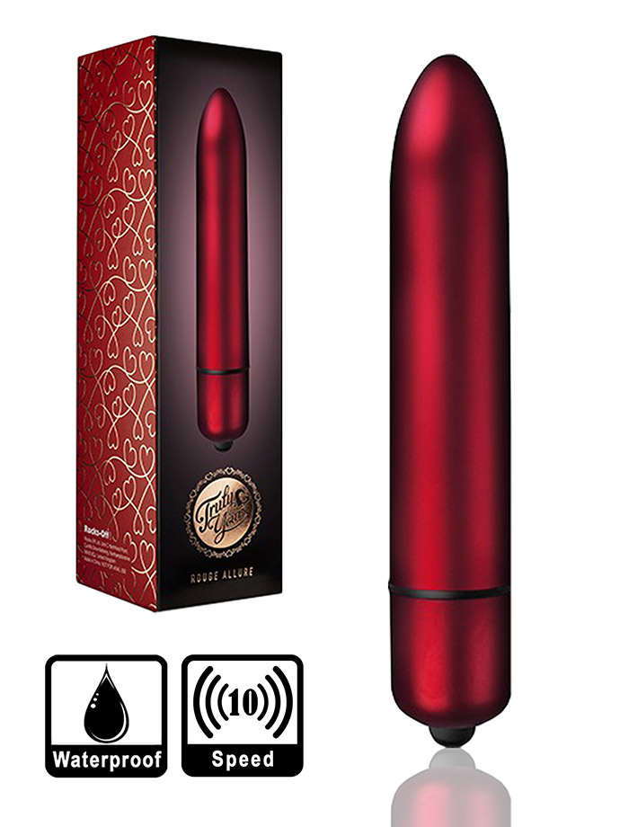 10 Speed RO-160 mm Bullet Vibrator - Rouge Allure