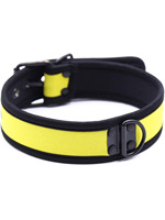Pupplay Neoprene Collar - Yellow