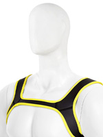 Pupplay Neoprene Harness - Yellow/Black